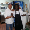 Demc with Flav O Flav cooking Fry Bread