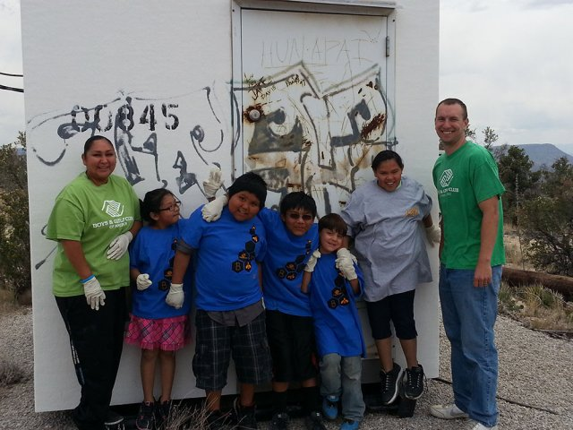 BGC Painting the Tower Shack